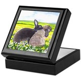 Rabbits Keepsake Box