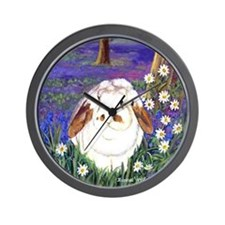 Horatio Lop Rabbit Wall Clock