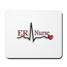 cardiac nurse Mousepad