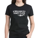 My Heart Trumpet Player Tee