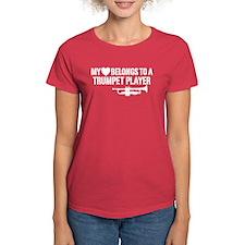 My Heart Trumpet Player Tee