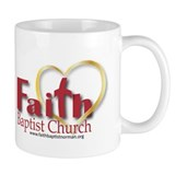 Faith Baptist red Mug