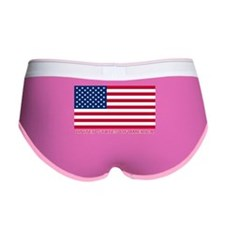 American Flag (labeled) Women's Boy Brief