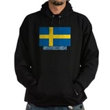 Swedish Flag (w/title) Hoodie