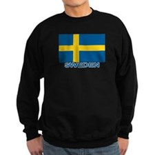 Swedish Flag (w/title) Sweatshirt