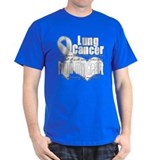 Dad Lung Cancer  T-Shirt
