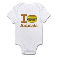 I Eat Animals Meat Food Infant Bodysuit