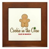 Due March Cookie Framed Tile