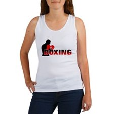 Cute Boxing Women's Tank Top