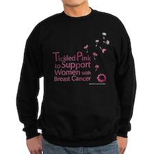 Tickled Breastcancer.org Sweatshirt (dark)