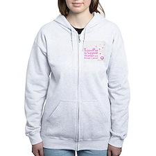Tickled Breastcancer.org Women's Zip Hoodie