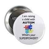 Funny Autism 2.25&quot; Button