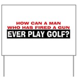 Play Golf? Yard Sign