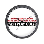 Play Golf? Wall Clock