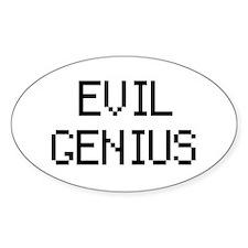 'Evil Genius' Decal