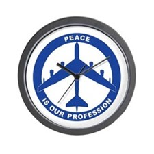 B-52H Peace Sign Wall Clock
