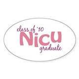 NICU Graduate 2010 Decal