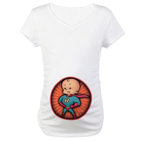 Future Hero Baby Maternity T-Shirt