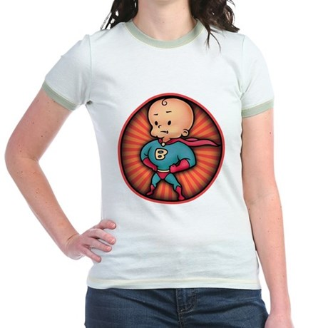 Future Hero Baby Jr. Ringer T-Shirt