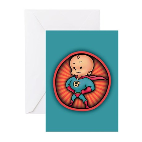 Future Hero Baby Greeting Cards (Pk of 10)