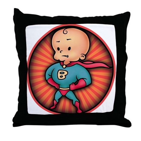 Future Hero Baby Throw Pillow