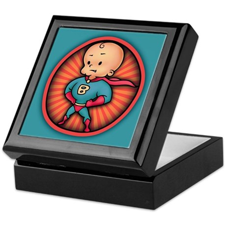 Future Hero Baby Keepsake Box