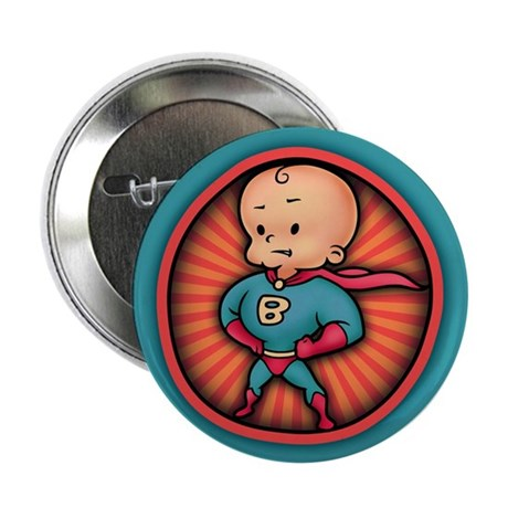 "Future Hero Baby 2.25"" Button (100 pack)"