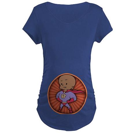 Future Hero Super Baby Maternity T-Shirt