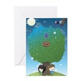 Bollo Greeting Card