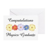 Physics Graduate (Blank) Greeting Card