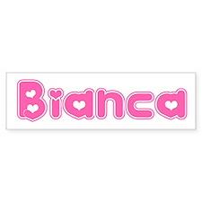"""""""Bianca"""" Bumper Bumper Sticker"""