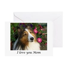 I love you Mom Greeting Card