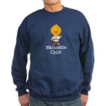 Bibliophile Chick Sweatshirt (dark)