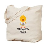 Bibliophile Chick Tote Bag