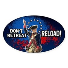 Don't Retreat - Reload Decal