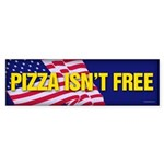 Pizza Isn't Free sticker