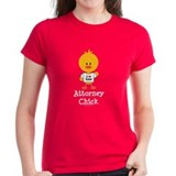 Attorney Chick Lawyer Tee