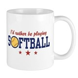 Softball Small Mug