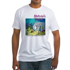 Poodle: The Other White Meat Fitted T-Shirt