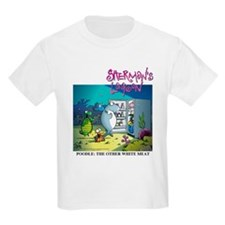 Poodle: The Other White Meat Kids Light T-Shirt