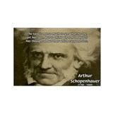 Arthur Schopenhauer Rectangle Magnet