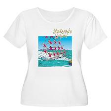 Waterskiing Women's Plus Size Scoop Neck T-Shirt