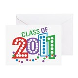 Class 11 Celebration Greeting Card