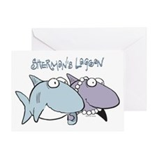 Sherman & Megan with Logo Greeting Card