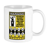 Warning: Politicians Mug