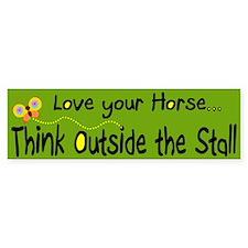 Love your Horse (bumper sticker)