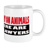 Why Experiment on Animals Mug