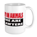 Why Experiment on Animals Large Mug