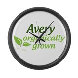 Organic Avery Large Wall Clock