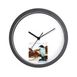 """Blue Bird"" Wall Clock"